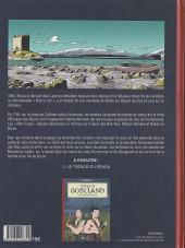Verso de Spirits of Scotland -2- Les secrets de blackmoor castle