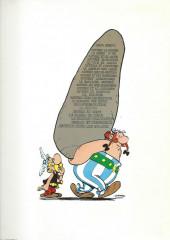 Verso de Astérix -1g1984- Astérix le gaulois