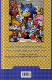 Verso de Sonic (Delcourt) -5- Lost world et compagnie