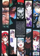 Verso de (DOC) Études et essais divers - La Passion du Manga - 20 ans à travers 20 auteurs