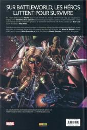Verso de Secret Wars : Les Gardiens de la Galaxie -INT- Les Gardiens de la Galaxie - Secret wars