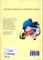 Verso de La petite Faiseuse de Livres -1- Tome 1