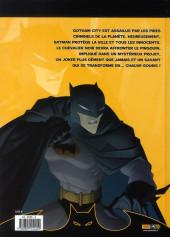 Verso de Batman : les aventures -1- Une ville de chauves-souris