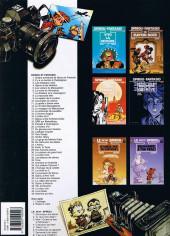 Verso de Spirou et Fantasio -7b2000- Le dictateur et le champignon