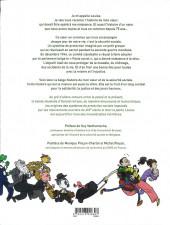 Verso de Un cœur en commun - La belge histoire de la sécurité sociale