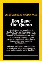 Verso de Mini-récits et stripbooks Spirou -MR4274- Dog Save the Queen - Une aventure de Virginia Woof