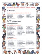 Verso de Néron et Cie (Les Aventures de) (Érasme) -15- Sacré Théophile