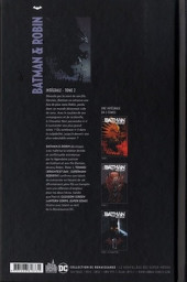Verso de Batman & Robin -INT02- Intégrale - Tome 2
