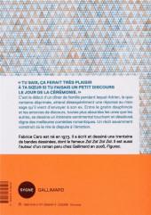 Verso de (AUT) Fabcaro - Le discours
