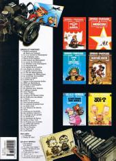 Verso de Spirou et Fantasio -3d1998- Les chapeaux noirs
