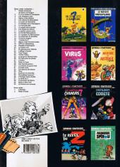Verso de Spirou et Fantasio -8b1989- La mauvaise tête