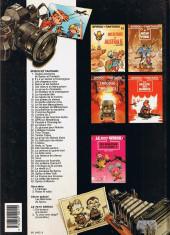 Verso de Spirou et Fantasio -9b1990- Le repaire de la murène