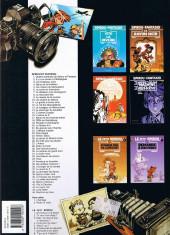 Verso de Spirou et Fantasio -10b2001- Les pirates du silence