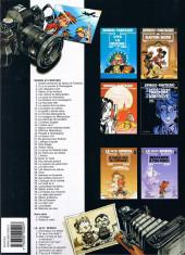 Verso de Spirou et Fantasio -20b2001- Le faiseur d'or
