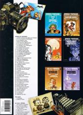 Verso de Spirou et Fantasio -21b2001- Du glucose pour Noémie