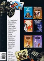Verso de Spirou et Fantasio -37b2000- Le Réveil du Z