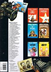 Verso de Spirou et Fantasio -33a1998- Virus