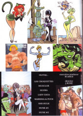 Verso de (DOC) Scarce -90- Les Super-héros Gold Key (1/2)