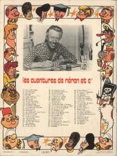 Verso de Néron et Cie (Les Aventures de) (Érasme) -79- Les Bataves