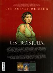 Verso de Les reines de sang - Les trois Julia -2- La Princesse du soleil invincible