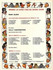 Verso de Néron et Cie (Les Aventures de) (Érasme) -13- Baringo