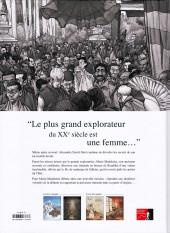 Verso de Une vie avec Alexandra David-Néel -4- Livre 4