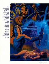 Verso de Marvel Graphic Novel (Marvel comics - 1982) -11- Void Indigo