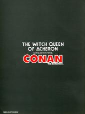 Verso de Marvel Graphic Novel (Marvel comics - 1982) -19- The Witch Queen of Acheron