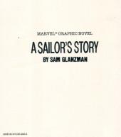 Verso de Marvel Graphic Novel (Marvel comics - 1982) -30- A Sailor's Story