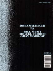 Verso de Marvel Graphic Novel (Marvel comics - 1982) -43- The Dreamwalker