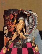 Verso de Marvel Graphic Novel (Marvel comics - 1982) -44- Ax