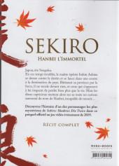 Verso de Sekiro : Hanbei l'Immortel