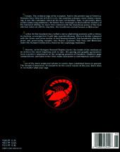 Verso de Marvel Graphic Novel (Marvel comics - 1982) -50- Wolverine/Nick Fury: The Scorpio Connection