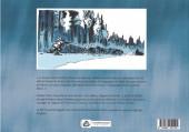 Verso de Silence blanc - Le Grand Nord de Jack London - Silence Blanc