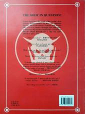Verso de Marvel Graphic Novel (Marvel U.K - 1985) -2- Death's Head: The Body In Question