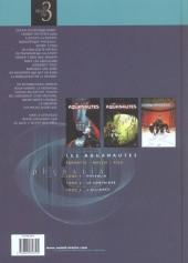 Verso de Les aquanautes (Parnotte/Mallié) -INT- Les Aquanautes-Intégrale 1
