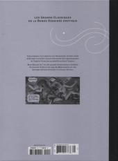 Verso de Les grands Classiques de la Bande Dessinée érotique - La Collection -101106- La Survivante - Tome 3