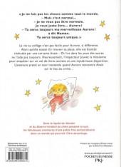 Verso de Aurore (Les fabuleuses aventures d') -2- Aurore et le mystère de la chambre secrète