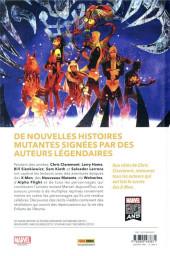 Verso de Legends of Marvel - X-Men