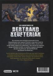 Verso de Les aventures de Bertrand Keufterian (WEBellipses) -INT1- Les Aventures de Bertrand Keufterian