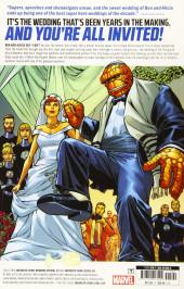 Verso de Fantastic Four (2018) -INT02- Mr. and Mrs. Grimm