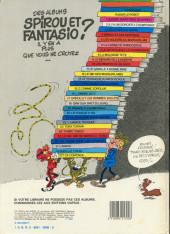 Verso de Spirou et Fantasio -7b1984- Le dictateur et le champignon