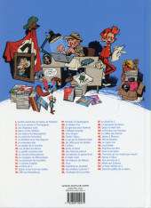 Verso de Spirou et Fantasio -5Ind2013- Les voleurs du Marsupilami