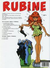 Verso de Rubine -1a2006- Les mémoires troubles