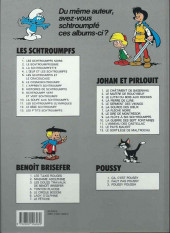 Verso de Benoît Brisefer -7a1993- Le fétiche