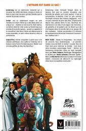 Verso de A+A - Les Aventures d'Archer et Armstrong - Tome TL