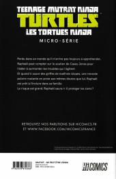 Verso de Teenage Mutant Ninja Turtles - Les Tortues Ninja (HiComics) -HS- Micro-série - Raphaël