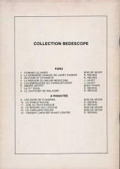 Verso de Jari -8- Le justicier de Malagne