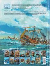 Verso de Les grandes batailles navales -13- Actium