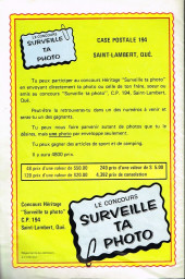 Verso de Popeye le marin (Éditions Héritage) -11- Champignon de mort !